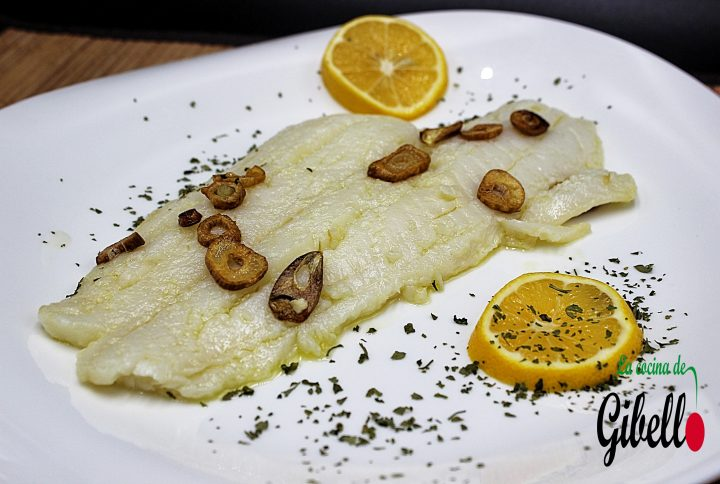 Halibut al ajillo